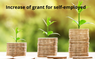 Grant increase for self-employed