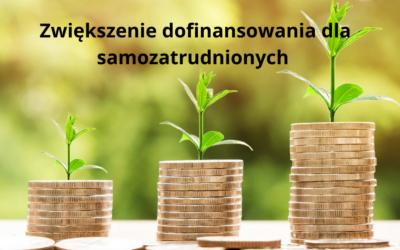 Zwiększenie dofinansowania